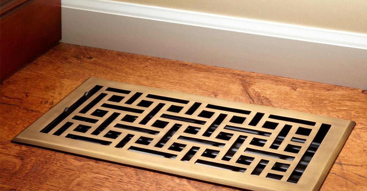 Understanding Floor Vent Registers 101